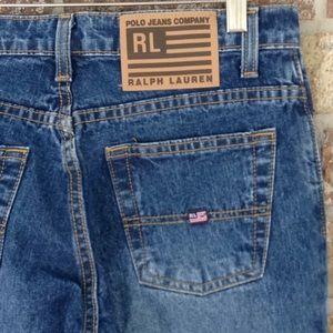 Ralph Lauren low rise flare jeans